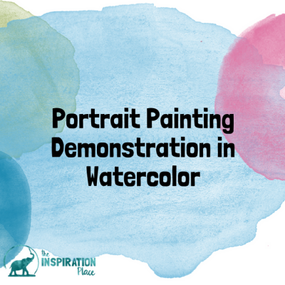 Portrait Painting Demonstration in Watercolor