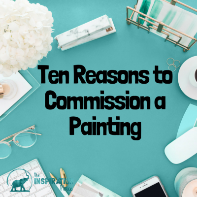 Ten Reasons To Commission a Portrait