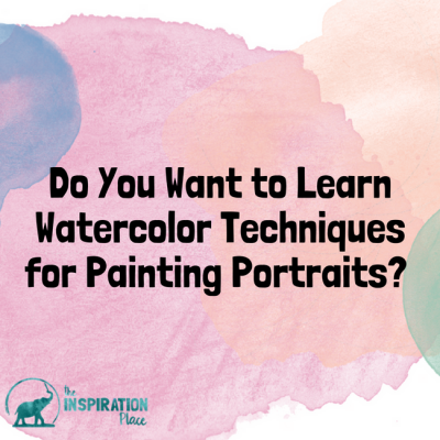 Do you want to learn watercolor techniques for painting portraits?