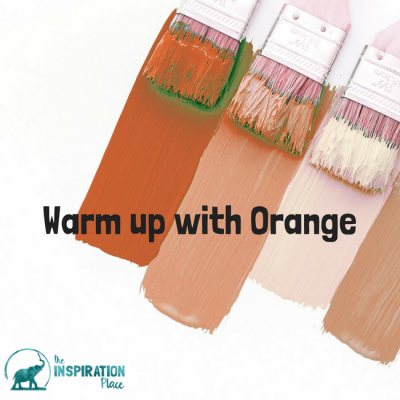 Warm up with orange
