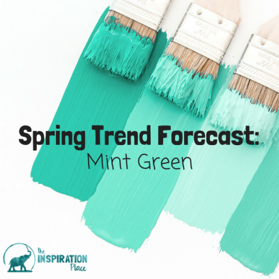 Spring Trend Forecast: Mint Green