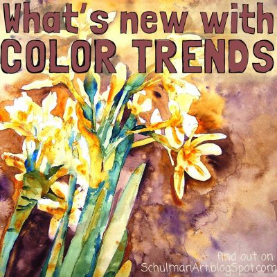 What's new with color trends