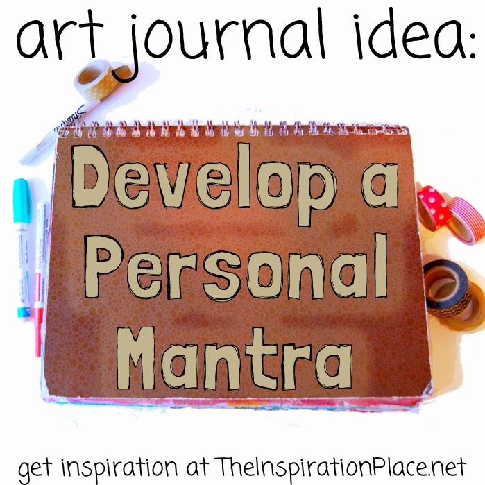 art journal ideas create a personal mantra schulman art