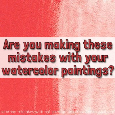 Are you making these 3 mistakes with your watercolor paintings?