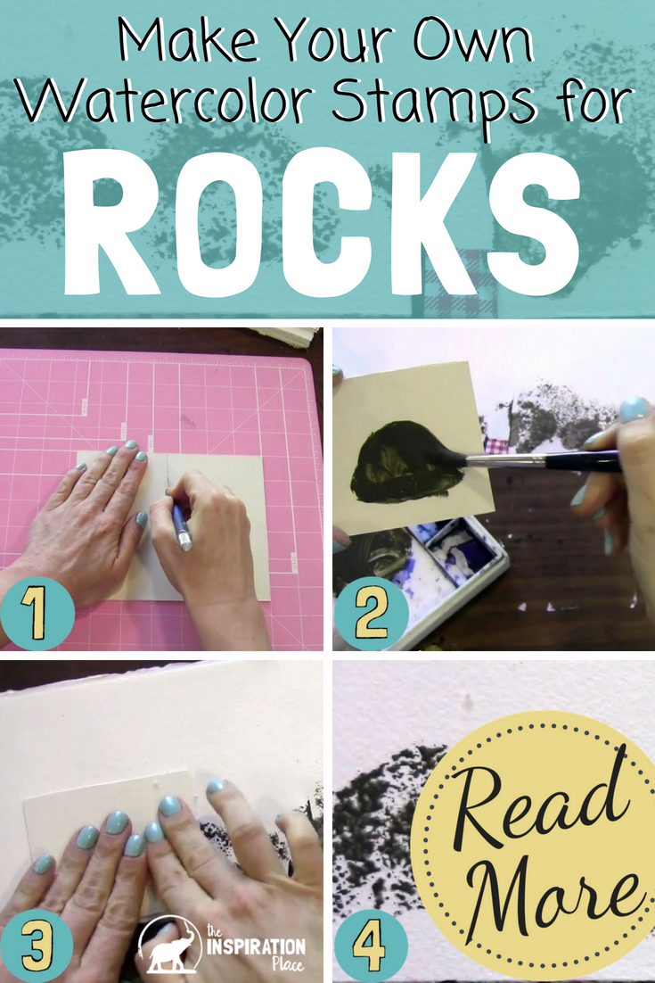 watercolor techniques | how to create rock textures https://www.schulmanart.com/2015/08/watercolor-wednesdays-how-to-create-rock-textures/
