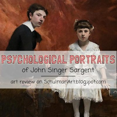 Learning from the Masters: The Psychological Portraits of John Singer Sargent