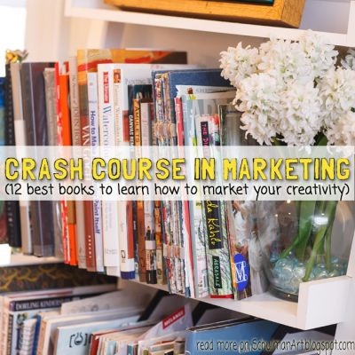 Crash Course in Marketing Your Creativity (12 best books for entrepreneurs)