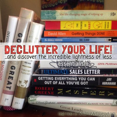 Declutter Your Life! (5 best books on productivity)