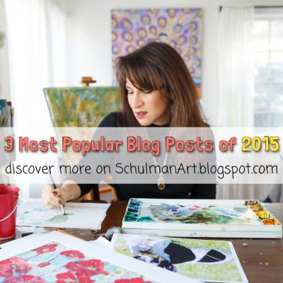 3 Most popular art blog posts of 2015