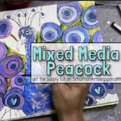 Using Watercolor in your Mixed Media Art
