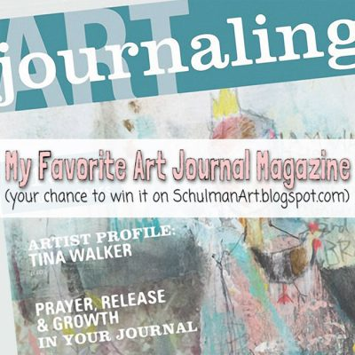 My Favorite Art Journaling Magazine (here's your chance to win it)