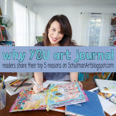 Top 5 reasons why you art journal