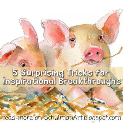 5 Surprising Tricks for Inspirational Breakthroughs (based on science)