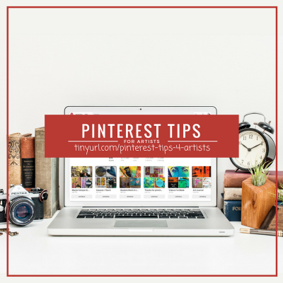 Artist Chats: Pinterest Tips for Painters