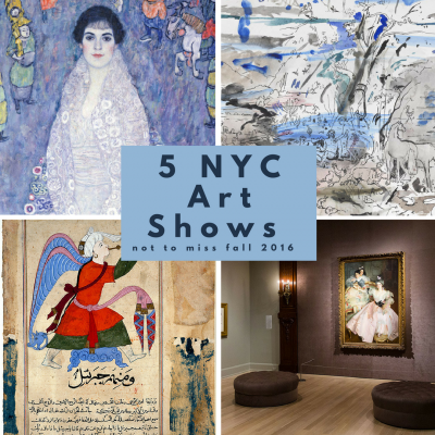 5 nyc art shows not to miss this fall [2016]