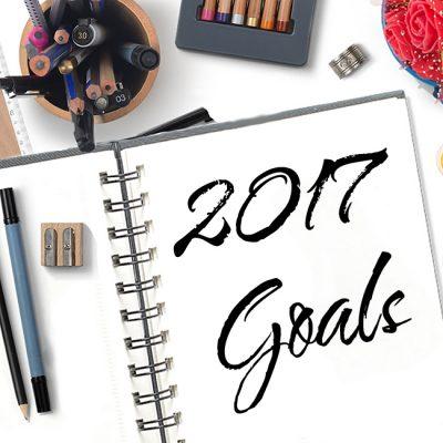 2017 Art Goals