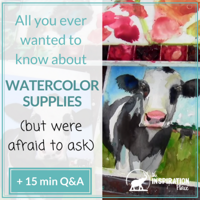 All You Ever Wanted to Know About Watercolor Supplies (but Were Afraid to Ask)