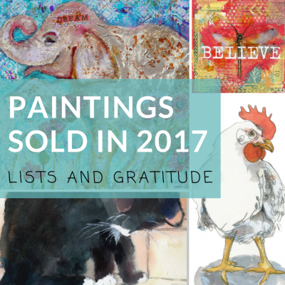 Paintings Sold in 2017