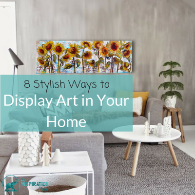How to display art