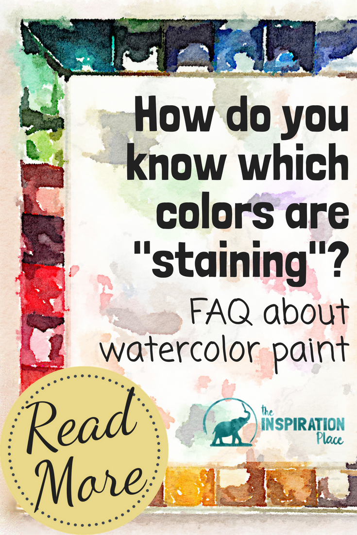 Knowing about different properties of watercolor paint will help you master watercolor painting. Use this guide to understand the differences between transparent, opaque, permanent, and non-staining watercolor paints → https://www.schulmanart.com/2017/03/guide-to-understanding-watercolor-paint-properties/