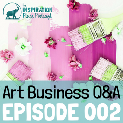 002 | Art Business Q&A: How to Sell Art at Fairs and Online with Blenda Tyvoll