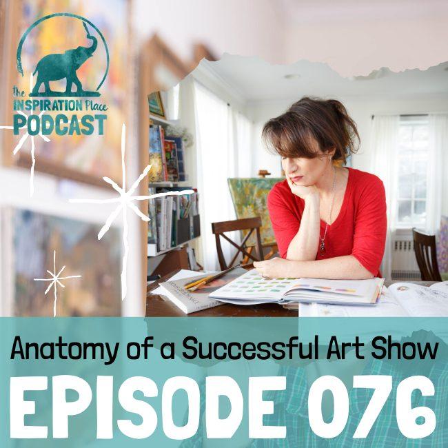 2020 IP Podcast - 076 - Anatomy Art Show - blog