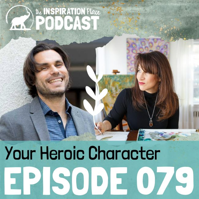 2020 IP Podcast - 079 - Your Heroic Character - blog