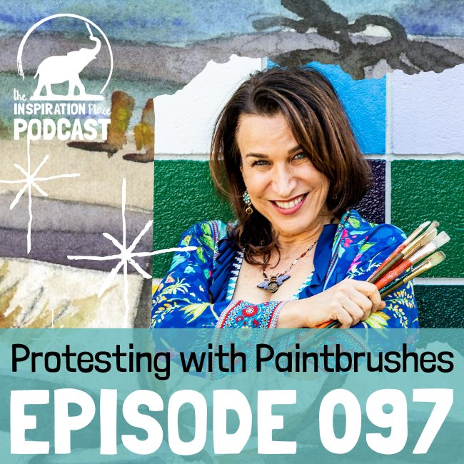 2020 IP Podcast - Episode 097 - Protesting with Paintbrushes - blog