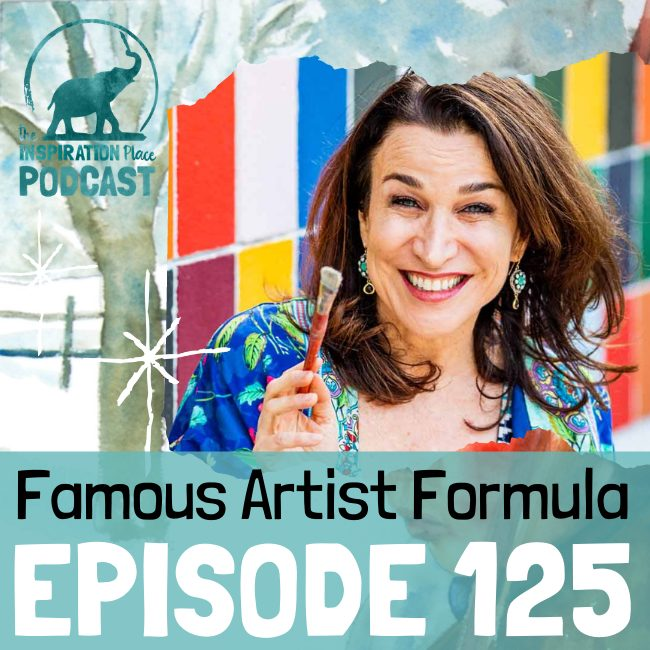 2021 IP Podcast - Episode 125 - Famous Artist Formula - blog
