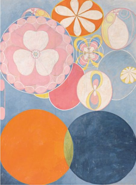 Hilma af Klint, The Ten Largest, No. 2, Childhood, 1907   Female Artists Forgotten by Art History   The Inspiration Place Podcast