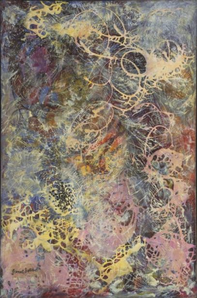 Janet Sobel, Milky Way, 1945   Female Artists Forgotten by Art History   The Inspiration Place Podcast