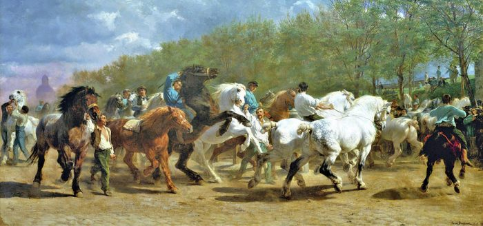 Rosa Bonheur, The Horse Fair, 1852–55   Female Artists Forgotten by Art History   The Inspiration Place Podcast